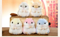 Wholesale Push Keychain - Cute soft - sister hamster keychain and stuffed with a stuffed doll