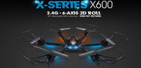 Wholesale Add Motor - MJX X600 SYNC IMAGE 2.4G RC quadcopter drone helicopter 6-axis can add C4005 wifi camera FPV VS Syma X5SW JJRC V686 CX30W