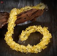 korallenstein naturals großhandel-Großhandels-Big Chunky Crystal Statement Naturstein Schmuck Natürliche ravel Form Stein Mondstein Aventurin Rote Koralle Perlen Halskette