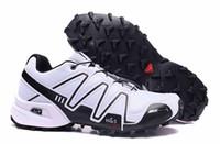 Wholesale Cotton Road Shoes - Salo*** Speedcross 3 shoes Men Summer sports Hiking waterproof Outdoors off-road running shoes Speedcross III 1s Sneakers