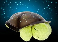 online shopping Led Turtle Projector - Turtle LED Night Light Music Lights Mini Projector 4 Colors 4 Songs Star Lamp Xmas Gift Children Toys YEYS