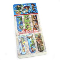 Wholesale China Wholesale Children Toys - From China 20stheet 120pcs Toy Story Magnetic bookmark Children gifts bookmark Free Shipping