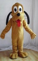 Wholesale New Pluto Mascot Costume - 2016 Hot selling NEW Style Pluto Dog Mascot Costume For Festival party