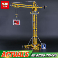 Wholesale Toy Crane Building Blocks - LOLTOY Lepin 02069 The Building Crane Set Building Blocks Bricks Toys