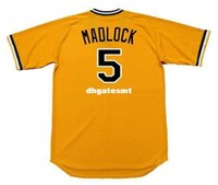 Cheap Custom BILL MADLOCK Pittsburgh Pirates 1979 Majestic Cooperstown Home Baseball Jersey Retro Mens Jerseys