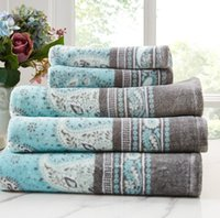 Wholesale Hand Towels China - GMCHIC bath towel 100% Egyption cotton design in Swedish made in China 70*140cm