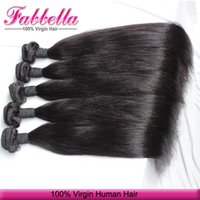 Wholesale Buy Remy Human Hair - Buy Human Hair for Braiding Top Grade 8A Virgin Brazilian Indian Peruvian Remy Human Hair Straight Natural Color Bundles Can Be Dyed
