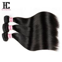 Wholesale Malaysian Sale - 2016 On Sale Brazilianperuvian hair Malaysian Virgin Hair Straight Hair 3Pcs 7A Virgin Malaysian Straight Hair Remy Human Hair Weave Bundles