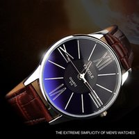 Wholesale Slim Men Wrist Watches - Analog Elegant Mens Watch For Business Men fashion Style Quartz Military Slim Wrist Watch Quartz dress wristwatch