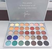Wholesale Earth Warms - Newest eyeshadow Palette 35 Color Eyeshadow Palette Earth Warm Color Shimmer Matte Eye Shadow Cosmetic Beauty Makeup Set