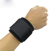 Wholesale Black Bracers - Sports Wristband Basketball Weightlifting Sports Bracers Adjustable Pressurized Adult Is Wound Bracers Sell Like Hot Cakes