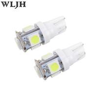 Wholesale Red 921 Bulb - Car led light 5SMD 5050 T10 W5W 152 158 159 2825 558 555 194 921 152 168 LED car wedge signal Light Bulb