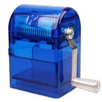 ingrosso 62mm plastica-Rotolo di plastica 105 * 76 * 62mm Protable Sigarette Roller Sigaretta Maker Strumento filtro dispositivo di plastica Grinder Roller erba