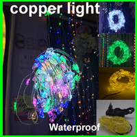 Wholesale power supply prices - Factory Price 10m 100 light 10m Holiday LED Copper String Light Decoration Fairy Light With Copper Wire +12v 2A power supply