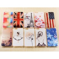 """Wholesale Back Cover Iphone Multi - Raised Cartoon Pattern Hard Case for iPhone 6 4.7"""" Plus 5.5"""" Stereo 3D PC Back Skin Cover Multi-Pattern Free Shipping"""