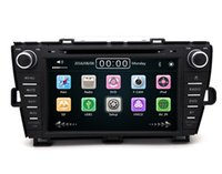 Wholesale Toyota Dash Navigation - 8inch Car DVD Built-in GPS Navigation Radio Rds Bluetooth MP3 MP4 1080P play for Toyota Prius Drive left Drive right 2009-2013