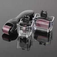 Wholesale dermaroller system for sale - Group buy derma meso roller needles in Dermaroller system