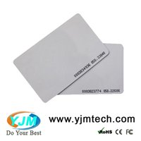 Wholesale Time Access Control System - Free shipping Good quality YJ01-ID 125 KHz RFID Proximity ISO Blank Smart rfid Card for access control and time attendance system
