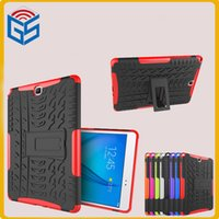 Wholesale Galaxy S2 Ii Cases - 2 in 1 Hybrid Kickstand Tablet Cover Case For Samsung Galaxy Tab S2 S II 9.7 T810 T815