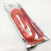 новейший шланг оптовых-Новейший 1,8 м Top Quantily Red Hookah Shisha Hose Pipe Accessory для курения с металлическим мундштуком