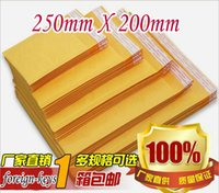 Wholesale 2015 NEW bubble envelope kraft bubble film bags yellow bubble envelope bag mm x mm mm