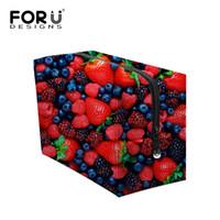 Wholesale Luxury Strawberry - Brand Women Make Up Organizer Bag Fruit Strawberry Print Women Luxury Cosmetic Bags Travel Beautycase Bolsas Maleta De Maquiagem