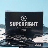 cartas de súper pelea al por mayor-S-SUP Wholesale SUPERFIGHT Tarjeta de 500 cartas Superfight Card Superfight Juego Hallowmas Christmas Gift B- CARDS -0
