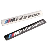 Styling Car 8.5x1.2cm Motosport M Performance per Auto Sticker distintivo per BMW Decal m3 m5 X1 X3 X5 X6 E36 E39 E46 E30 E60