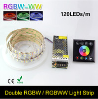 16.4FT Double Row 5050 RGB светодиодная лента 5M 600 светодиодная SMD светодиодная гибкая ленточная лента DC12V 10A Power 86box Dimmer Controller