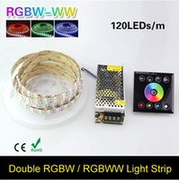 16.4FT Zweireihig 5050 RGB Led-streifen 5 Mt 600 Led SMD Led Flexible Lichtband Band DC12V 10A Power 86box Dimmer Controller