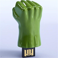 Wholesale Tablet Avengers - Avengers 3 Hulk Quake Model 64GB 128GB 256GB USB 2.0 Flash Drive for Windows IOS Android system tablet PC