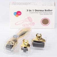 Wholesale dermaroller system resale online - dermaroller microneedle system derma roller needles needles in DermaRoller