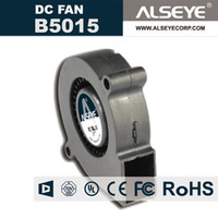 Wholesale 12v fans radiator resale online - ALSEYE B5015 mm Blower DC Cooling Fan Radiator v A RPM Lines Hydraulic Bearing Electronic and Exhaust Fans