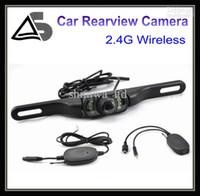kamera açısı görüntüsü toptan satış-2.4G Kablosuz Araba Dikiz Kamera Yedekleme Camear Ters Kamera 170 Açı Lens