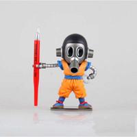 Wholesale Goku 14 - Free Shipping 15CM Banpresto Dragon Ball Z MEGA WCF 2 Akira Toriyama Son Goku Cloth Action Figures Toys