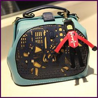 Wholesale Little Prince Handbag - Fashion Hot Sale Promotion Little Prince Handbag Spell Color Stitching Pony Doctor Bag Women Shoulder Bag 2014 New Lady Handbag
