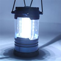 Wholesale Super Bright Led Light Battery - Super Bright 12 LED Portable Lanterns Camping lamp Outdoor Led Hiking Camping Light Outdoor Tent Portable Emergency Light Lamp With Compass