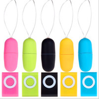 Wholesale Wireless Remote Control Vibrators Women - Waterproof Portable Wireless MP3 Vibrators Remote Control Women Vibrating Eggs Body Massager Sex Toys Adult Products for Women