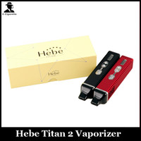 Wholesale control lcd display for sale - Group buy Titan kit Dry herbal Vaporizer E cigarette dry herbs Vaporizer pen mAh LCD display Temperature Control HEBE Ecig VS Firefly Titan