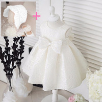 Newborn New Baby Bambini Ragazze Bambini Formal Wedding Princess Tutu Party Dress 2 Color 5 Size