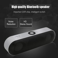 Wholesale Portable Boombox Bluetooth - Mini NBY-18 Bluetooth Speaker 3D Surround Stereo Subwoofer HIFI Wireless Portable Speakers Boombox Bluetooth Music Receiver