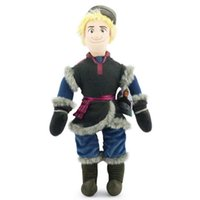 3-4 Years black hand puppets - 50cm New Frozen Kristoff Plush Dolls Stuffed plush Soft Toys Baby Frozen plush Toy EMS