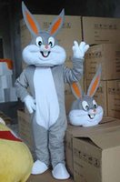 Wholesale Adult Mascot Costume Bunny - 2016 brand new s Bugs Bunny Mascot costume Cartoon costumes Adult size Halloween Costume