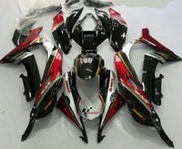Wholesale Kawasaki Ninja Fairings For Sale - Hot Sales,For Kawasaki Ninja ZX 10R 2016 ZX10R 16 ZX-10R Red Bodywork Sportbike ABS Fairing Kit (Injection molding)