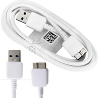 Wholesale Micro Mains Usb - For Samsung note 3 data sync cable 1M 3FT micro usb 3.0 charger cord Data Sync Mains Charger data Cable Wire For Samsung Note 3 S5 500pc