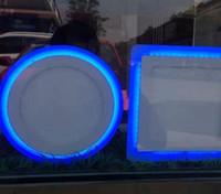 plafonnier led panneau achat en gros de-10W 15W 18W Acrylique LED Encastré vers le bas Panneau lumineux Plafonnier Applique murale AC 85-265V Blanc froid Blanc chaud Pour la décoration intérieure Spotlight