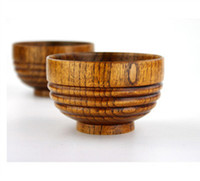 Wholesale Wholesale Brown Rice - household Tableware Eco-Friendly Jujube wood Wooden bowl Bowls Kitchen meal bowl Rice Soup Bowl Kitchen Bowl