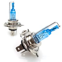 Wholesale Hid 35 - H4 three Contactors HALOGEN XENON HID HEADLIGHT HEADLAMP SUPER WHITE BULBS 12V 35 35W Free Shipping # A2002007