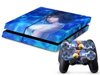 Wholesale Fantasy Decals - Final Fantasy X 0150 DECAL SKIN PROTECTIVE STICKER for SONY PS4 CONSOLE CONTROLL