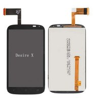 Wholesale T328e Desire X - Wholesale-For HTC Desire X T328E LCD Display and Touch Screen Digitizer Assembly Free Shipping